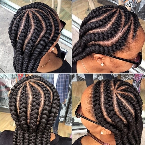 African American Cornrow Hairstyles 14 | African American Hairstyles With Regard To 2018 Cornrows African American Hairstyles (View 4 of 15)