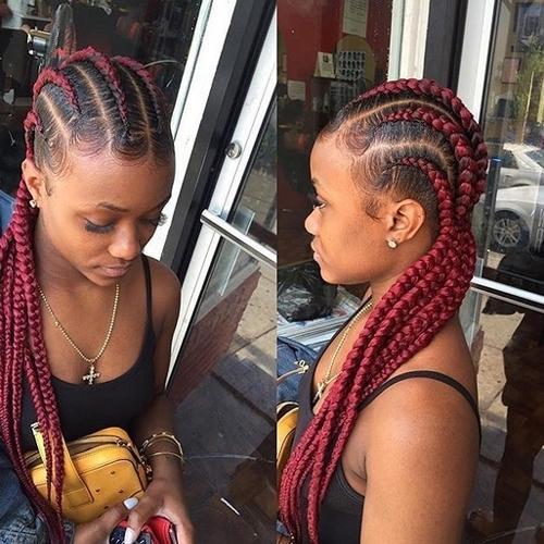 African American Cornrow Hairstyles 3 | African American Hairstyles Within Most Current Cornrows African American Hairstyles (View 5 of 15)