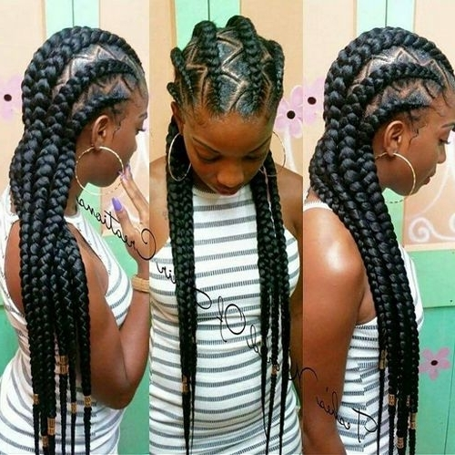 African American Cornrow Hairstyles Pictures | Natural Hairstyles 4 Pertaining To Latest Cornrows Hairstyles With Afro (Gallery 7 of 15)