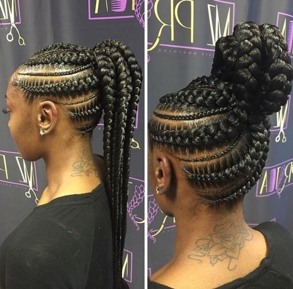 African American French Braid Hairstyles, Best French Braids For With Most Recent Braided Hairstyles For African American Hair (View 8 of 15)