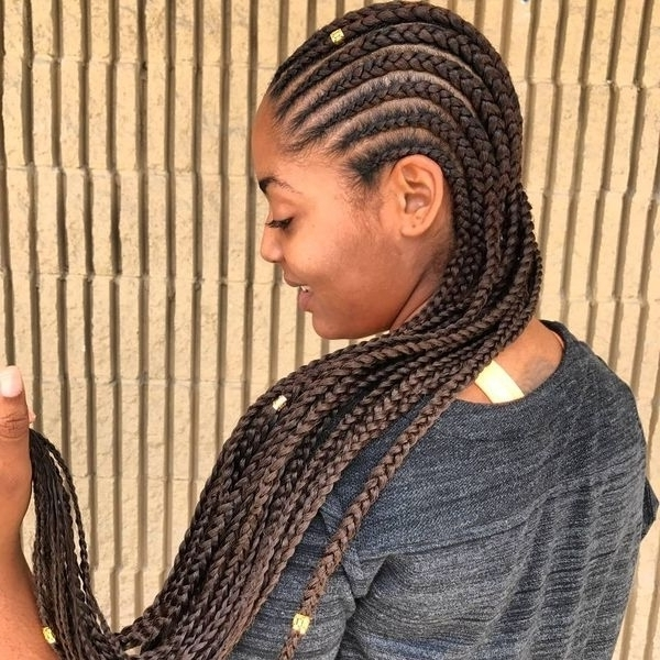 African Braids Hairstyles Pretty Braid Styles For Black Women For Latest Cornrows African Hairstyles (View 11 of 15)