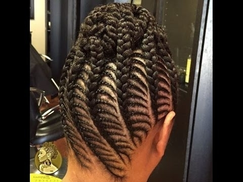 Photos Of African Cornrows Hairstyles Showing 6 Of 15 Photos