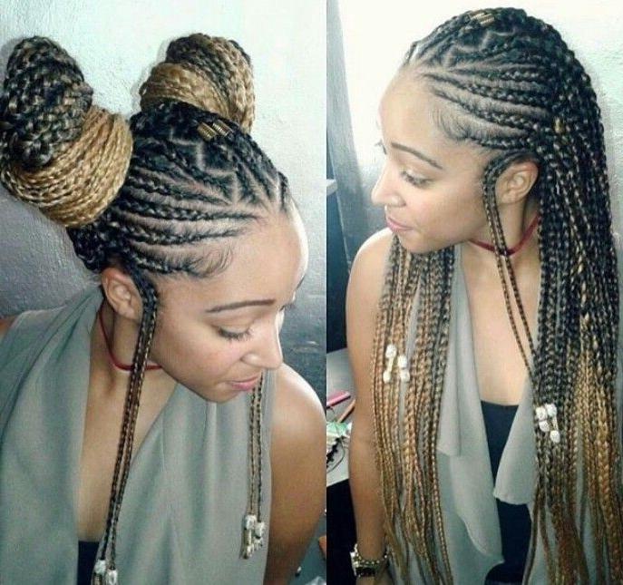 Alicia Keys Inspired Braids | Twist | Pinterest | Alicia Keys, Key In Latest Shoulder Length Loose Curls With Beaded Mini Fulani Braids (Gallery 9 of 15)
