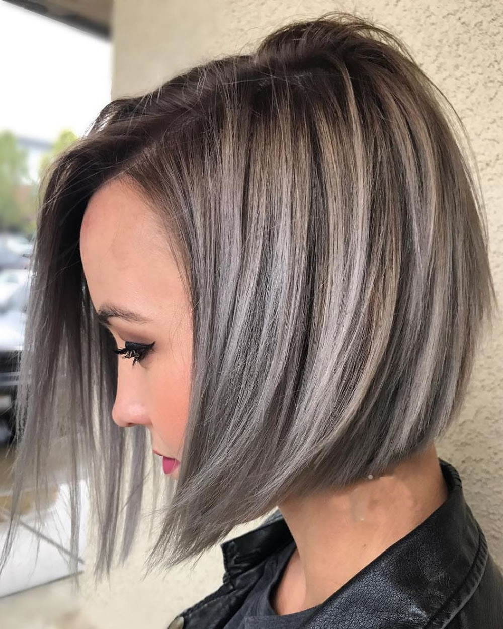 Asymmetrical Short Haircuts With Balayage Highlights 2018 – 2019 Intended For Latest Shaggy Pixie Haircuts With Balayage Highlights (Gallery 8 of 15)
