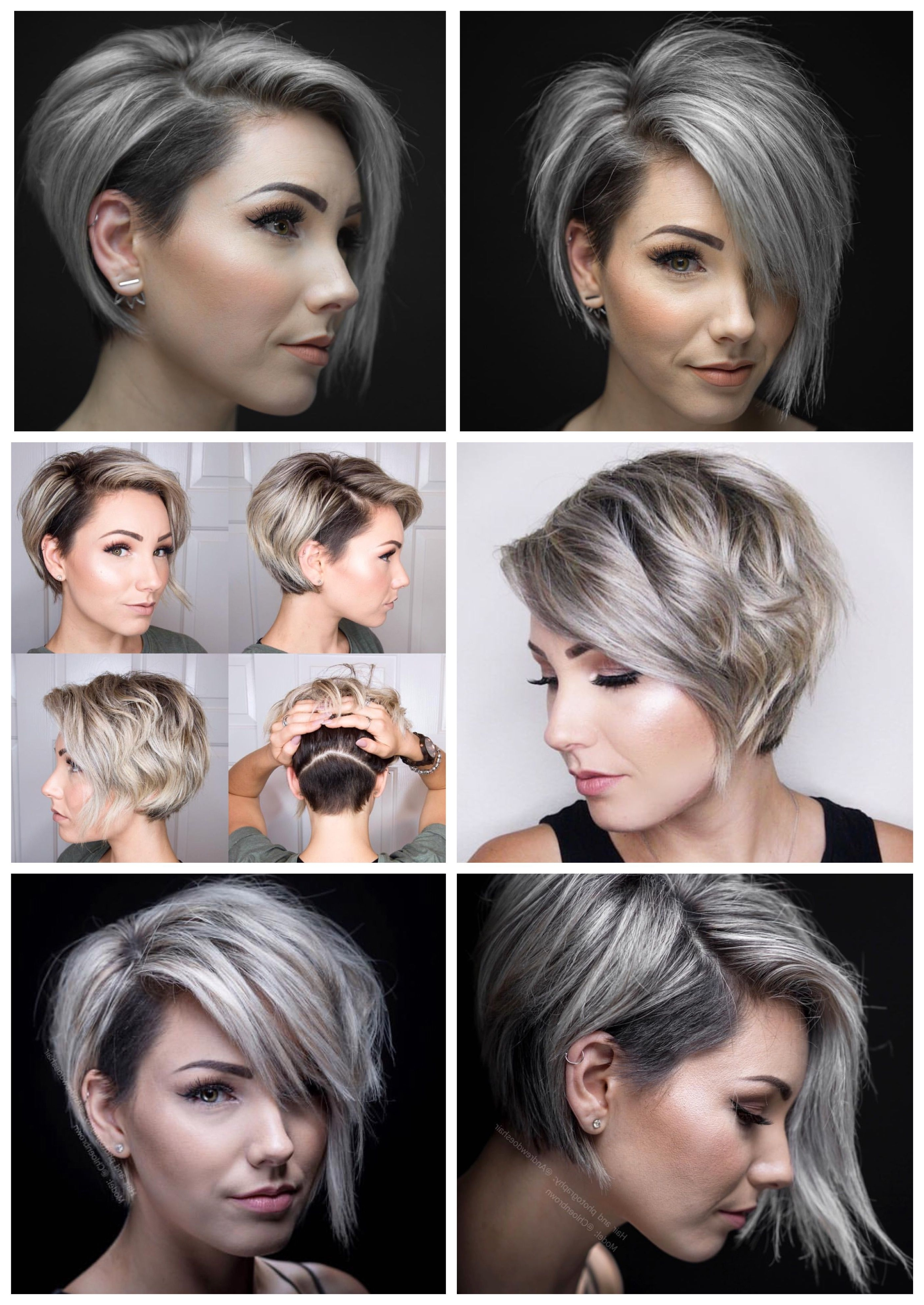 Asymmetrical Short With Undercut | Haircuts | Pinterest | Undercut Throughout Latest Pixie Bob Haircuts With Temple Undercut (Gallery 4 of 15)