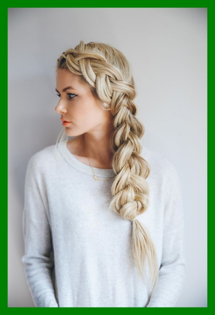 Awesome Best Cute Braided Hairstyles For Long Hair On Pic White Girl Within Recent Braided Hairstyles For White Girl (View 14 of 15)