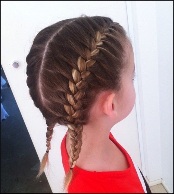Back To School Braided Hairstyles – Hollywood Official Inside Latest Braided Hairstyles For School (View 11 of 15)