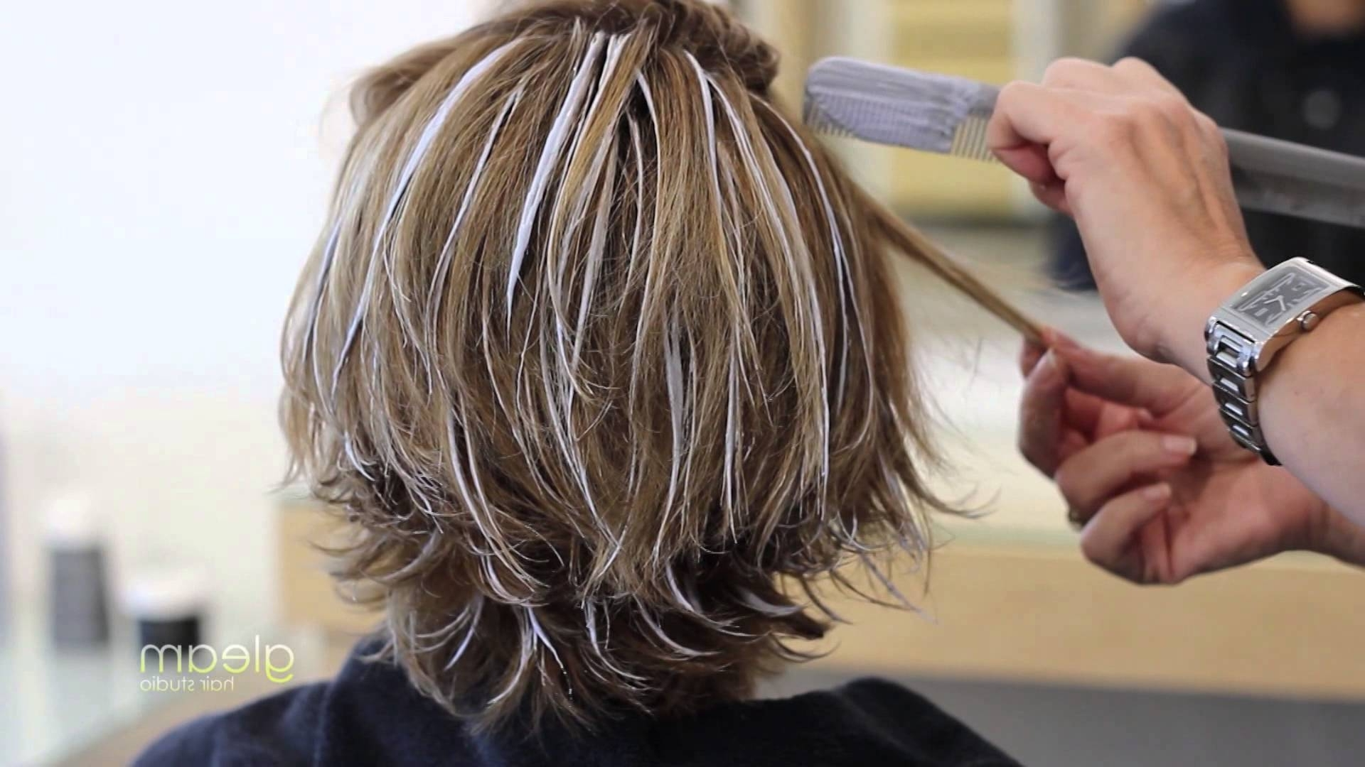 Balayage Highlight Short Hair – Gleam Hair Studio – Miami – – Youtube Within Most Popular Balayage Pixie Haircuts With Tiered Layers (View 6 of 15)
