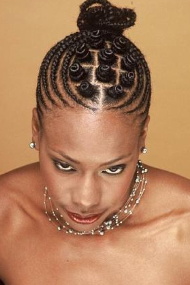 Bantu Knots Hairstyle For African American Women | Everlasting Within Current Exotic Twisted Knot Hairstyles (View 8 of 15)
