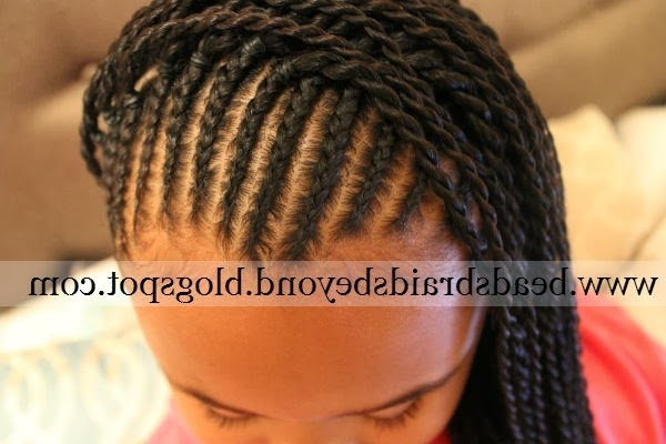 Beads, Braids And Beyond: Cornrows & Sister (Rope) Twists Throughout Most Current Cornrows With A Twist (View 12 of 15)