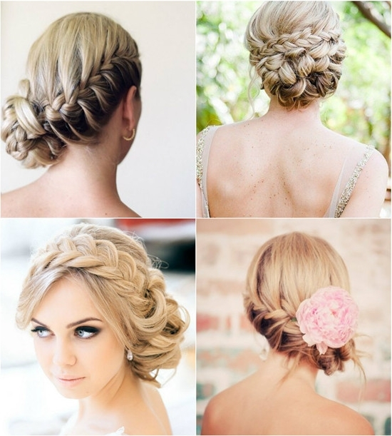 Beautiful Braid Hairstyles For Wedding Photos – Styles & Ideas 2018 Pertaining To Most Popular Braided Hairstyles For Bridesmaid (View 15 of 15)