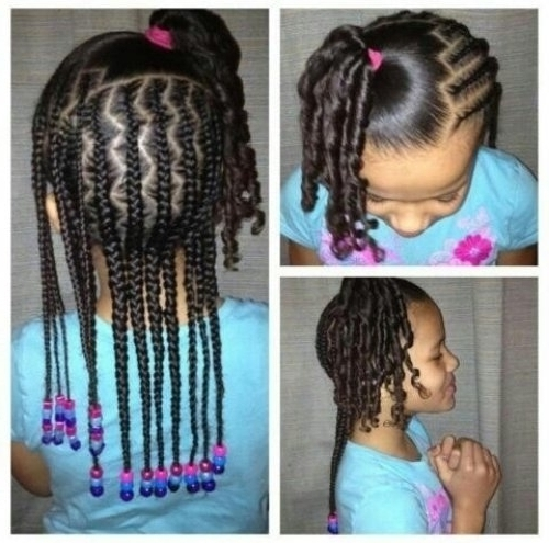 Beautiful Braided Hairstyles For Little Girls Photos Styles Pertaining To Recent Braided Hairstyles For Little Girls (View 10 of 15)