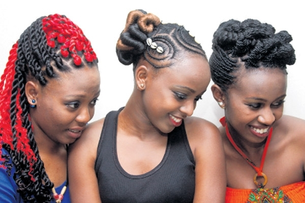 Beautiful Braids – Daily Nation With Most Recently Kenyan Cornrows Hairstyles (View 14 of 15)