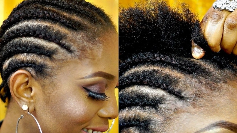 Beautiful Thin Cornrow Hairstyles – Make Over 2018 – Ehizoyafilms Within Most Recent Thin Cornrows Hairstyles (View 13 of 15)