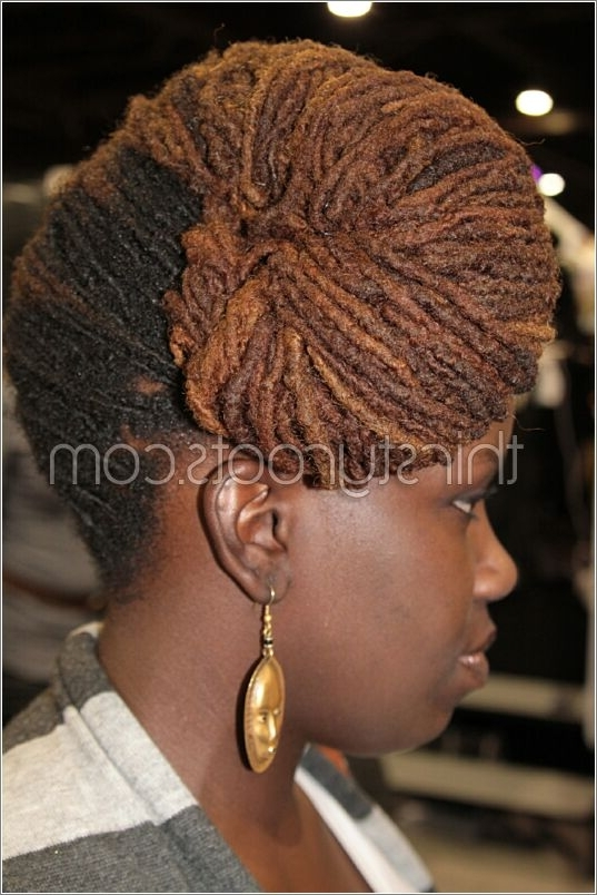Beautiful Women With Dreadlocks With Latest Braided Dreadlock Hairstyles For Women (View 3 of 15)