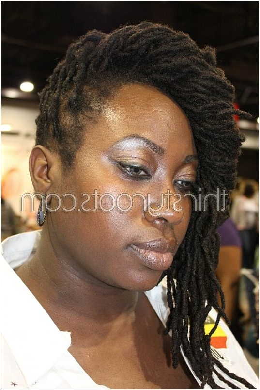 Beautiful Women With Dreadlocks Within Latest Braided Dreads Hairstyles For Women (View 2 of 15)