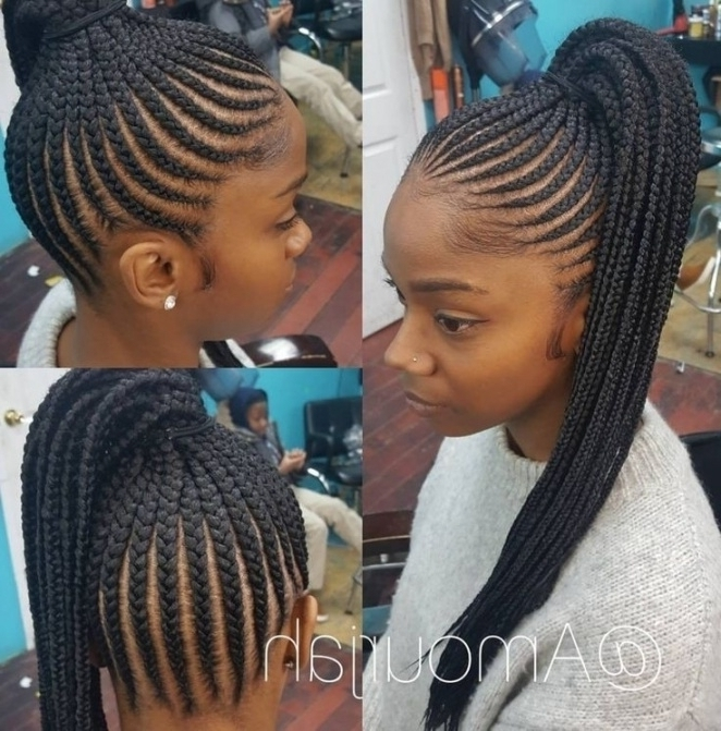 Best 25+ Black Braided Hairstyles Ideas On Pinterest   Black Hair In Throughout Recent Quick Braided Hairstyles For Black Hair (View 4 of 15)