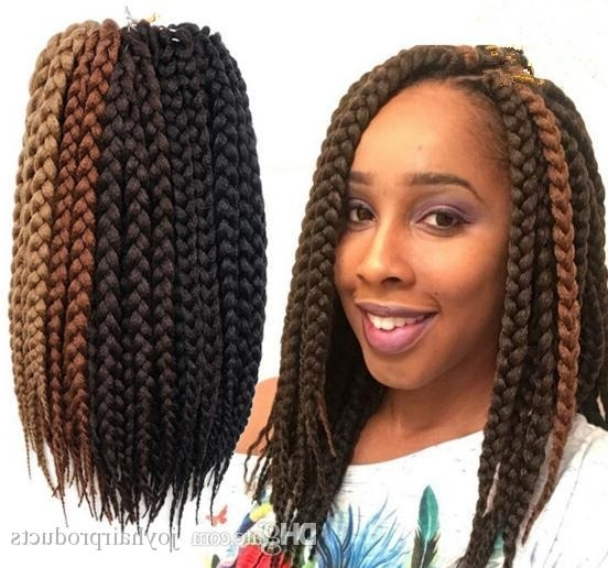 Best Box Braids Hair Crochet 12'' Crochet Hair Extensions Synthetic Within Latest Braided Hairstyles With Crochet (View 12 of 15)