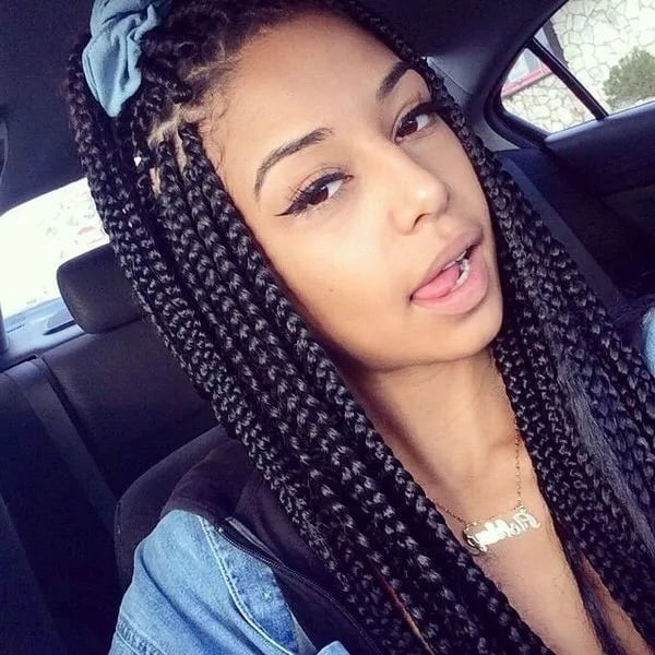 Best Box Braids Hairstyles In Ghana 2018 ? Yen (View 6 of 15)