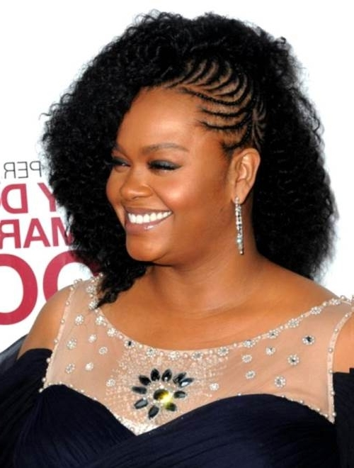 Best Braided Hairstyles For Round Faces – Extraordinary Braided Within Latest Braided Hairstyles For Round Face (View 13 of 15)