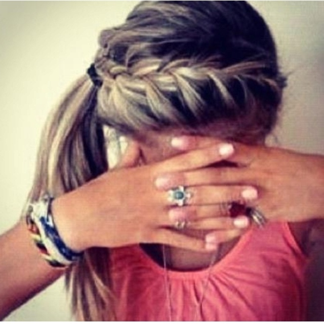 Best Running Hairstyles – Canadian Running Magazine Inside Newest Braided Hairstyles For Runners (View 5 of 15)