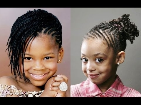 Best Unique Braided Hairstyles For African American Little Girls Regarding 2018 Braided Hairstyles For Kenyan Ladies (View 3 of 15)