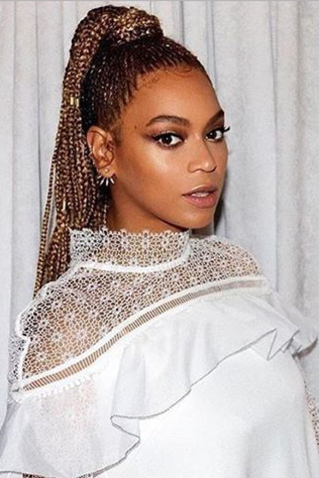 Beyonce Braid Hairstyles – Essence In Most Up To Date Beyonce Braided Hairstyles (View 3 of 15)