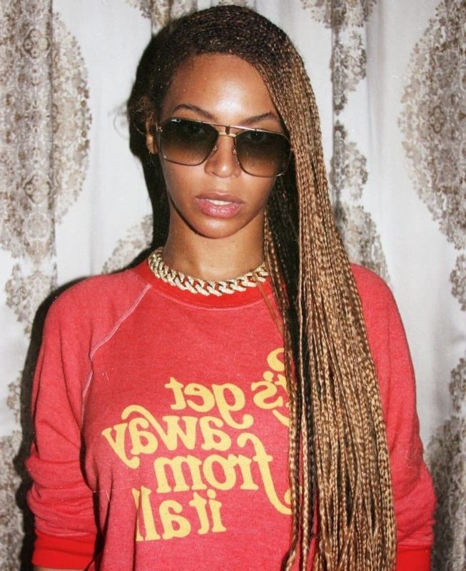 Featured Photo of Beyonce Braided Hairstyles