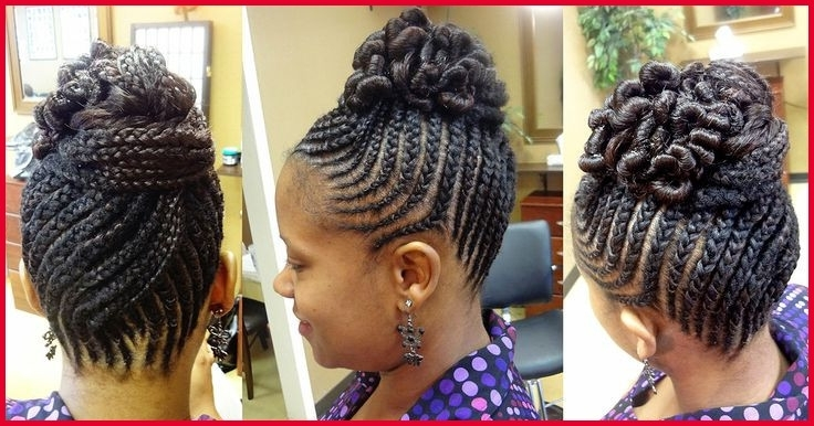 Black Braid Updo Hairstyles 12343 Braided Updo Hairstyles For Black Pertaining To Current Braided Up Hairstyles For Black Hair (View 9 of 15)