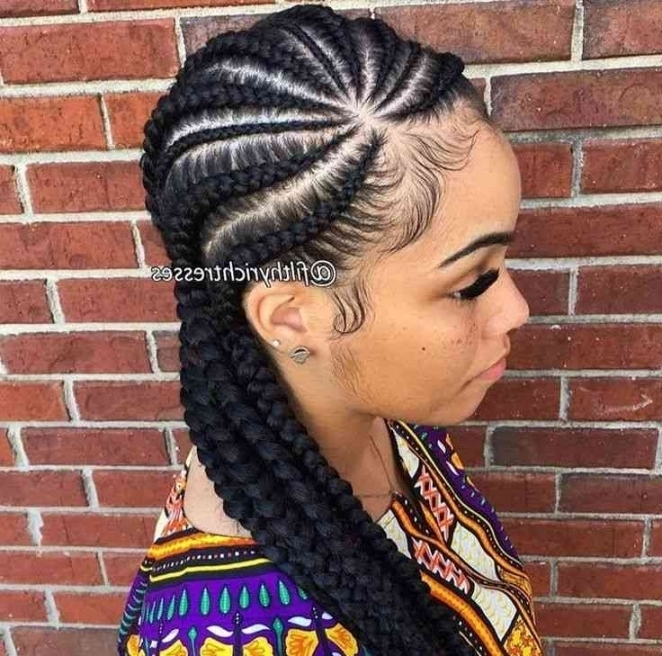 Black Hair Braids With Cute Weave Billedstrom Also Quick Braided Inside Latest Braided Hairstyles With Weave (View 12 of 15)