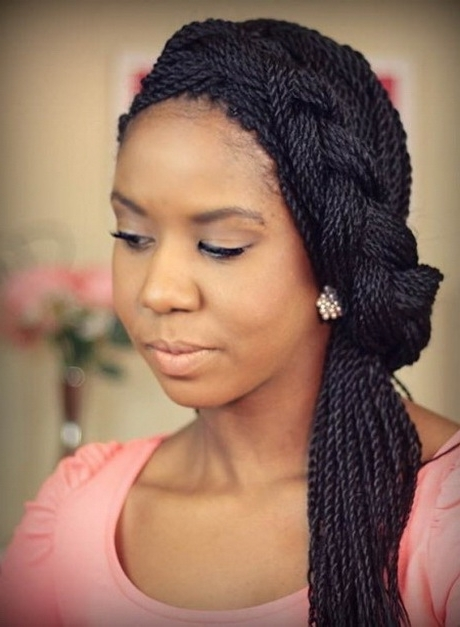 Black Hairstyles: 55 Of The Best Hairstyles For Black Women | Hairstylo Within Most Up To Date Cornrows Hairstyles For Square Faces (View 14 of 15)