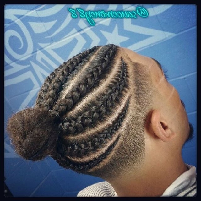 Black Men Haircuts: 40 Best Black Men Long Hairstyles – Atoz Hairstyles With Newest Braided Hairstyles For Black Males (View 5 of 15)