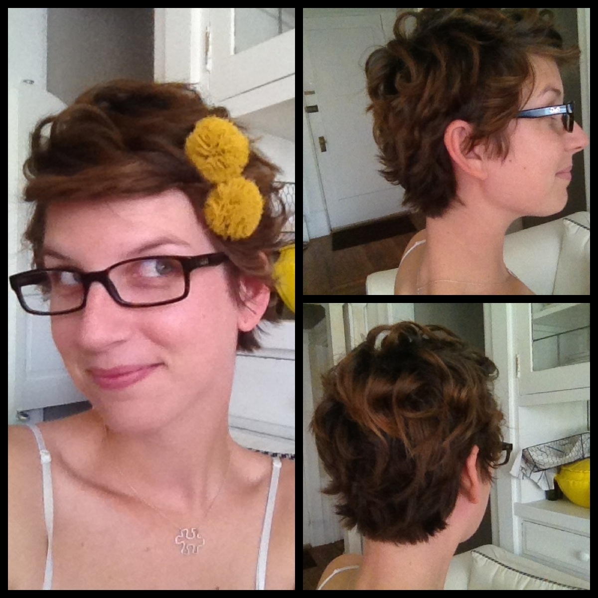 Blending Beautiful} » How To Gracefully Grow Out A Pixie Cut Throughout Current Growing Out Pixie Haircuts For Curly Hair (View 7 of 15)