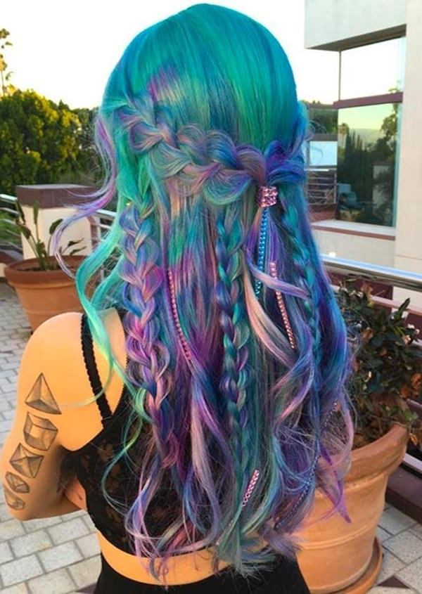Blog – Page 3 Of 3 – Bun & Braids Intended For Most Up To Date Extra Long Blue Rainbow Braids Hairstyles (View 5 of 15)