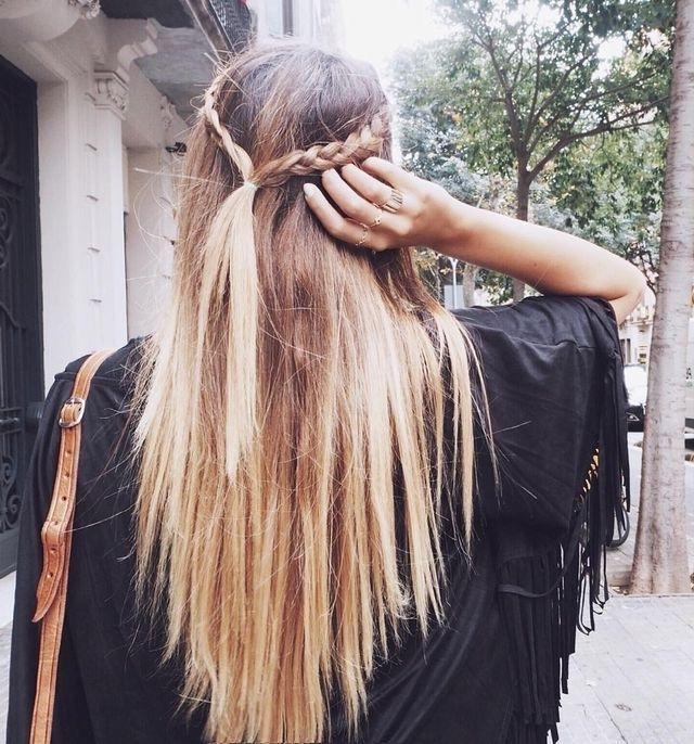 Blonde Braids | Fashion, Hair, Beauty ? | Pinterest | Blonde Braids Regarding Current Braided Hairstyles For Straight Hair (View 6 of 15)