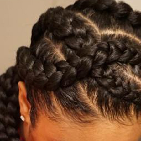 Bnghair January 2017 How To Style Of Criss Cross Braids – Braids Regarding Most Up To Date Mohawk With Criss Crossed Braids (View 11 of 15)