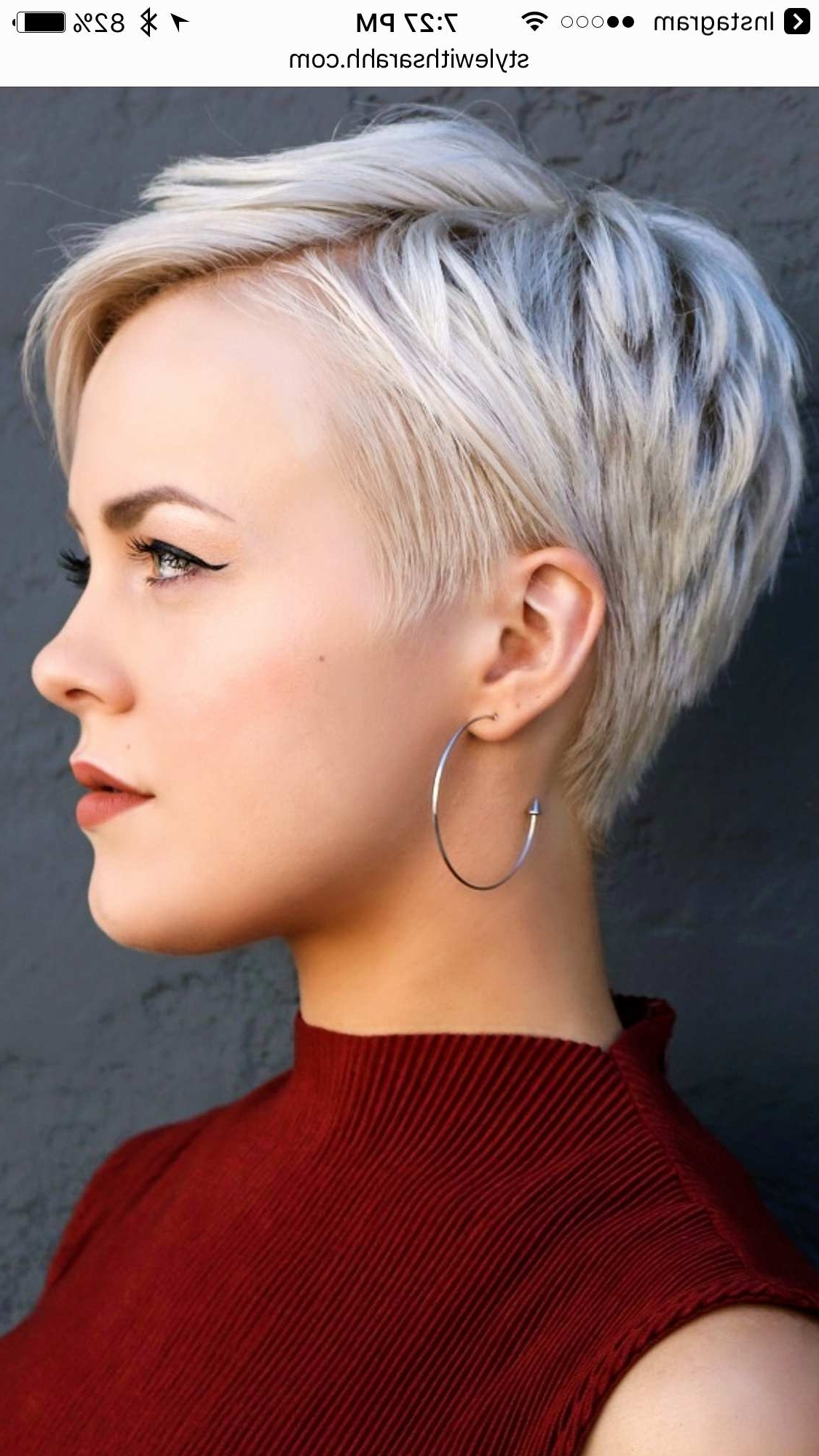 Bob Hairstyles For Fine Hair Best Of Short Pixie Bob Haircuts Inside Most Recent Pixie Bob Haircuts (View 11 of 15)