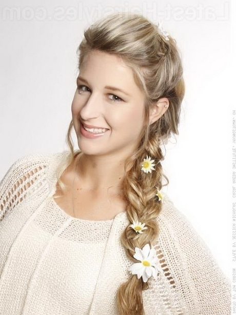 Bohemian Braid Hairstyles With Most Current Bohemian Side Braid Hairstyles (View 14 of 15)