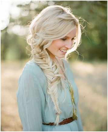 Bohemian Loose Fishtail Side Braid Hairstyle – Pro Ladies Tips : Pro Inside Recent Bohemian Side Braid Hairstyles (View 10 of 15)