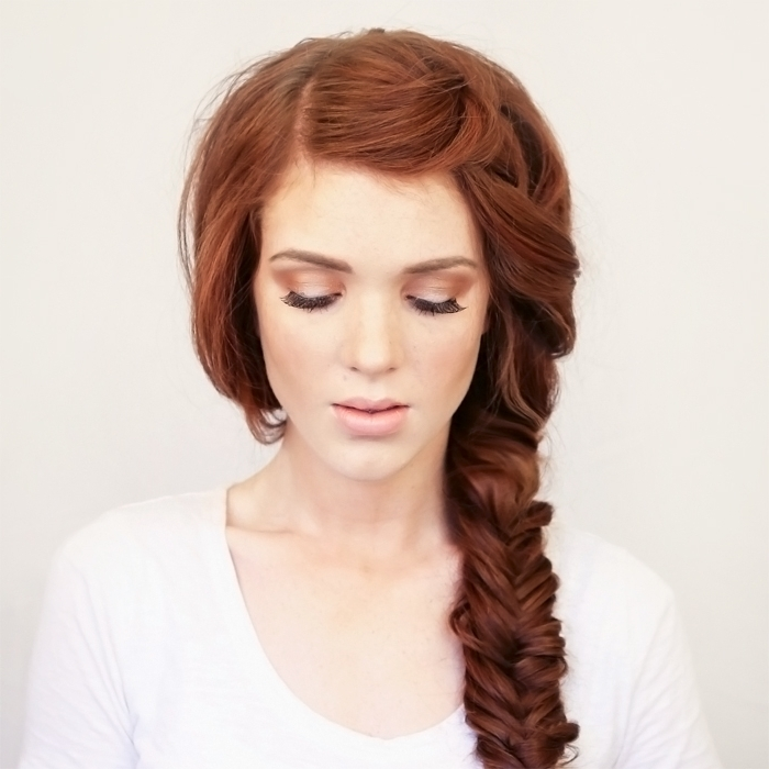 Bohemian Side Braid Festival Hair Tutorial – Wonder Forest Intended For Latest Bohemian Side Braid Hairstyles (View 6 of 15)
