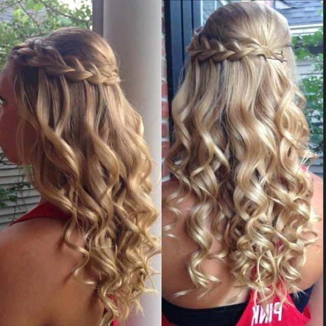 Braid & Curls With Regard To Most Recent Braided Hairstyles With Curls (View 13 of 15)