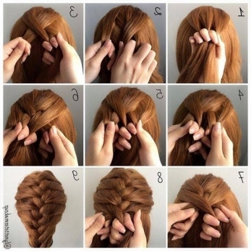 Braid Hairstyle For Shoulder Length Hair Intended For Medium Length With Most Recent Medium Length Braided Hairstyles (View 7 of 15)
