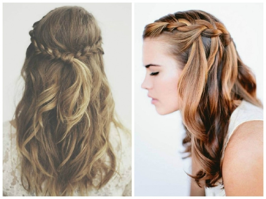 Braid Hairstyle With Hair Down The Best Crown Braid Hairstyle Ideas Intended For Latest Braided Hairstyles With Hair Down (View 8 of 15)