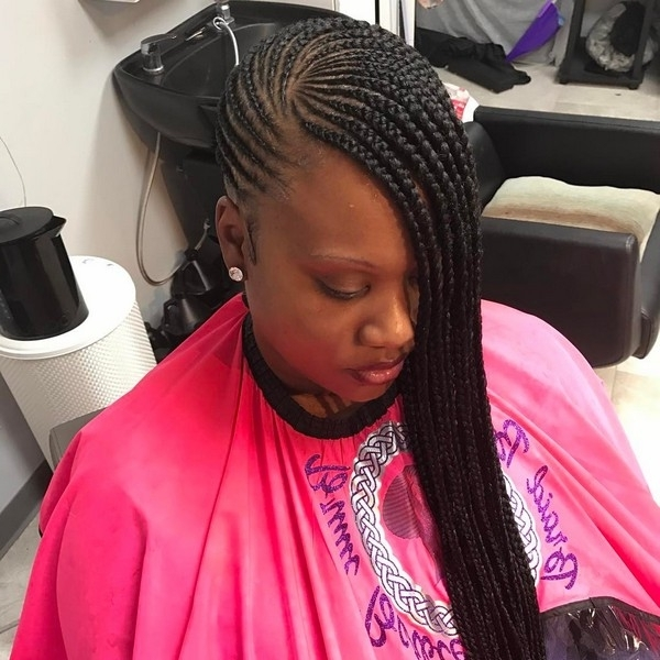 Image Gallery Of Lemonade Braided Hairstyles View 12 Of 15 Photos