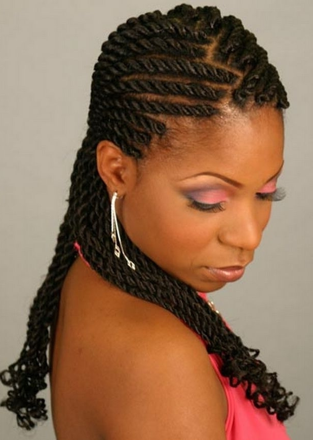 Braid Hairstyles For Black Women | Beauty Stuff | Pinterest | Black Within Current Braided Hairstyles For Short African American Hair (View 5 of 15)