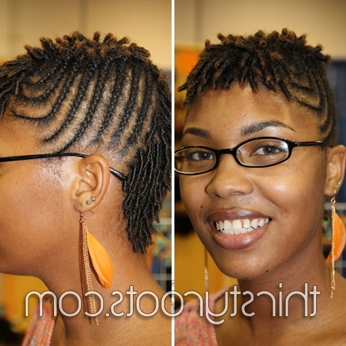 Braid Hairstyles For Short Hair Inside Newest Braided Hairstyles For Short African American Hair (View 3 of 15)