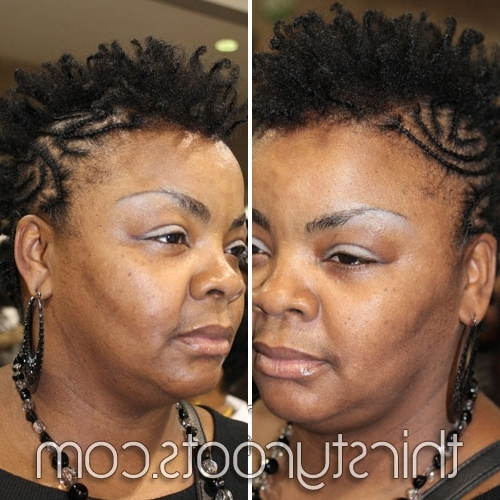 Braid Hairstyles For Short Hair Within Best And Newest Braided Hairstyles For Short Natural Hair (View 15 of 15)