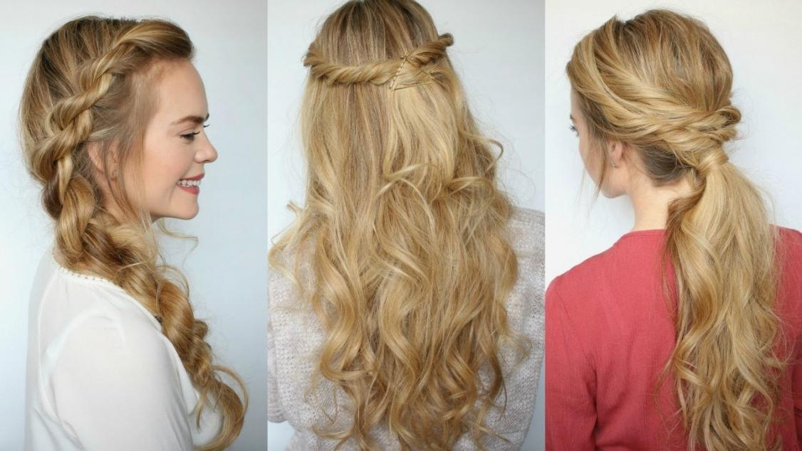 Braid Hairstyles : Simple Braid Hairstyles Easy Image In Hairstyles With Recent Simple Braided Hairstyles (View 12 of 15)