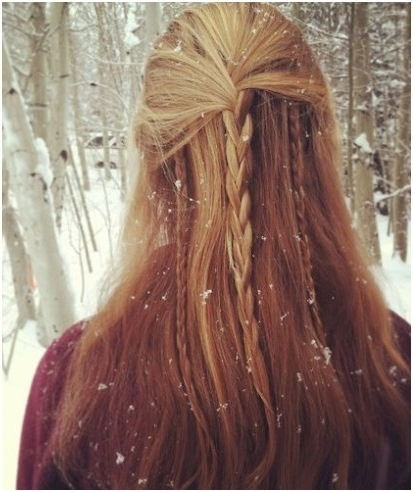 Braid Into Long Straight Hair: Braided Hairstyles Ideas – Popular In Best And Newest Braided Hairstyles For Straight Hair (View 11 of 15)