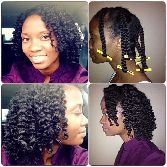 Braid Out On Relaxed Hair – Google Search | Relaxed Hair | Pinterest With Regard To Most Recently Braided Hairstyles For Relaxed Hair (View 3 of 15)